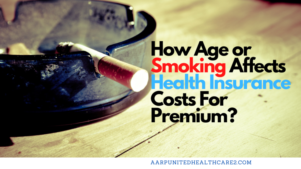 Age or Smoking Affects Health Insurance